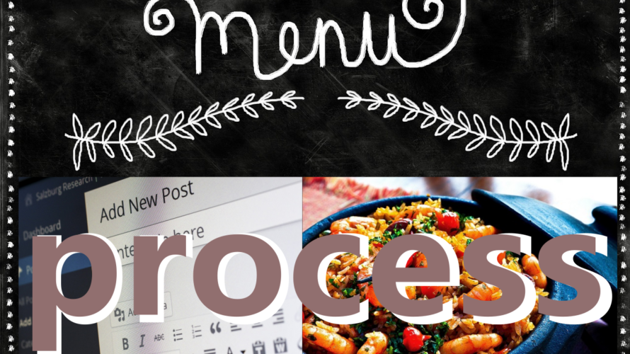 ブログを書く事と夕飯の支度に悩まないコツ(プロセス編)